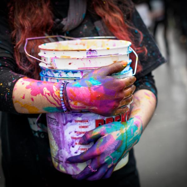 Paint Bucket on Dragon Day